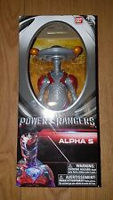 BAN DAI POWER RANGERS MOVIE FIGURE 20CM ALPHA 5 NEW BOXED