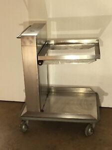 AMF Lowerator Tray Plate Glass Dispenser Stainless Steel   $3000 NEW  SAVE$$$