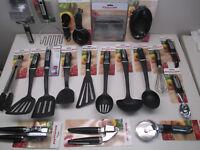 KitchenAid black kitchen utensils each sold separately