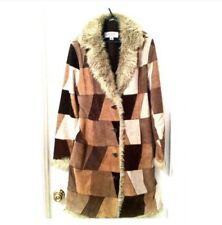 Vintage Suade Patchwork Coat