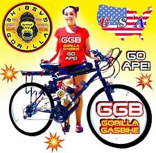 2-Stroke 66cc/80cc Motorized Bike Kit And 26� Bicycle Multispeed Diy+Free Bonus