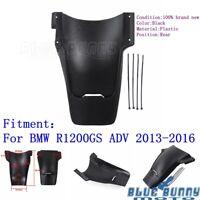 Black Plastic Rear Fender Mudguard Mud Guard For BMW R1200GS ADV 2013-2016 New