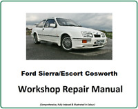 Ford Sierra/escort Cosworth rs The Official Workshop Service Manual DOWNLOAD⬇️