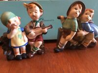 Vintage collectible figurines from Japan - Set of 2