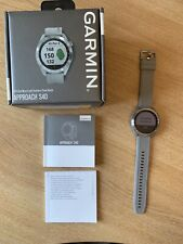 GARMIN S40 APPROACH GOLF WATCH AND GPS EXCELLENT CONDITION BOXED