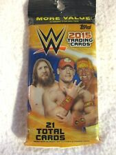 TOPPS ROAD TO WRESTLE MANIA 2015 TRADING CARDS 21 CARDS BRAND NEW
