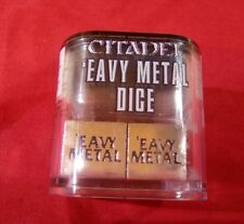 Games workshop Citadel Limited Edition EAVY METAL DICE anniversary Event.