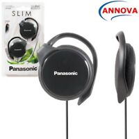 Panasonic RP-HS46 BLACK Clip On Ear-Hook Ultra Slim Headphone Original Brand New