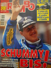 Auto & Sport ROMBO 43 1995 Gp Pacifico Michael Schumacher ipoteca mondiale