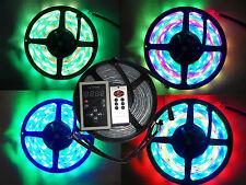 5M 6803 IC 5050 SMD RGB Dream Color LED Strip Light + 133 Modes RF Remote