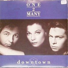 """ONE 2 MANY 'DOWNTOWN' UK PICTURE SLEEVE 7"""" SINGLE"""