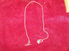 NEW. UNIQUE. Sterling Silver Golf Necklace. Catherine Canino Jewelry. A GR8 Deal