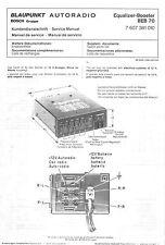 Blaupunkt Service Manual für BEB 70