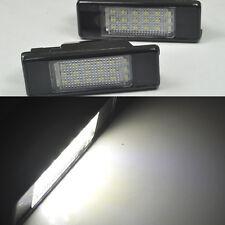 2x Led License Number Plate Light PEUGEOT 308 5d hatchback 508 207 cc CITROEN C2