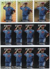 Lot of (23) Roy Halladay 2013 Topps Finest Refractor Cards w/ Orange - Phillies