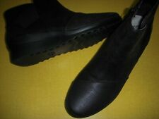 Clarks Caddell Tropic Cloud Sterppers Wedge Heel Ankle Boots Women's 7 M Black