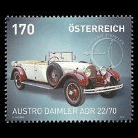 "Austria 2014 - Cars ""Austro Daimler ADR 22/70"" Motor Vehicle - Sc 2482 MNH"