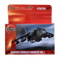 AIRFIX 1:72 HAWKER SIDDELEY HARRIER GR.1 MODEL AIRCRAFT SET A55205 NEW(No Paint)