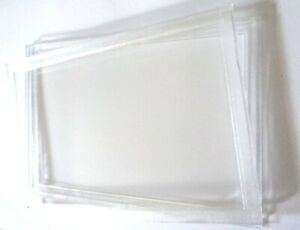 Hard Plastic Clear Coin Set Cases For Sandhill Type Cards 175 x 120 x 10mm