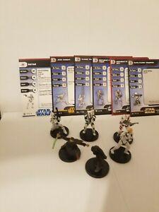 Star Wars Miniatures Odd Ball & Jedi Knight Republic Team Builder Lot