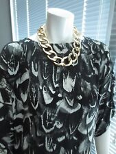 "large chain link costume jewelry necklace nickel free 17"" goldtone lobster clasp"