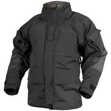 Cappotti e giacche da uomo stile parka nero con cappuccio