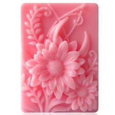 Blumen Craft Silikon Seifenform Craft Form DIY handgemachte Seifenformen