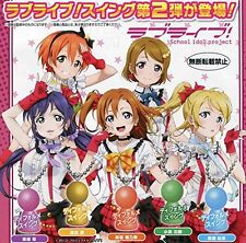 Capsule Toys Gashapon Love Live! Swing 02 5 Pics Set From Japan