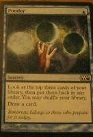 1x Ponder, MP, Magic 2010, Pauper EDH Commander Legacy Vintage Draw Blue 1 Mana