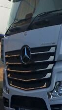 Mercedes Actros MP4 Grill Inserts Stainless Not Kelsa Light Bar