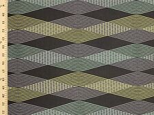 Woven Modern Diversion Dusk Large Contemporary Charcoal Upholstery Fabric