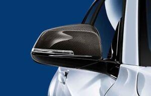 BMW Genuine M Performance Left & Right Pair Carbon Wing Mirror Caps 1234 Series