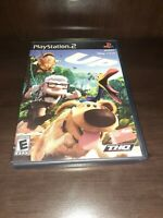 """PS2 """"Up"""" Sony PlayStation 2 2009 PS2 Game Complete Disney Pixar  FREE SHIP"""