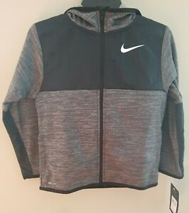 Nike Therma Dri-Fit Youth Full-Zip Hoodie Jacket Size 6 (NEW)