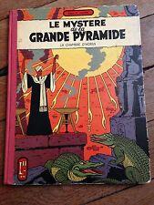 le mystère de la grande pyramide tome 2 (1959) BLACK ET MORTIMER dos toilé