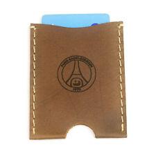 Genuine Leather Card Holder Oyster PSG FC logo Christmas Gift
