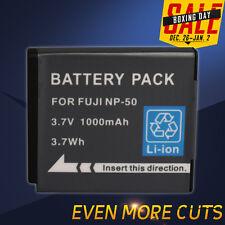 1000mAh FUJI NP-50 Battery for Pentax D-Li68 D-L168 Optio A36 A40 S10 S12