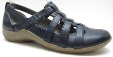Lifestride Blue Wedge Loafers Cut Out Shoes Sneakers 6.5B 6.5 NEW $89