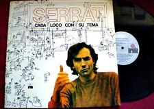 JOAN MANUEL SERRAT - CADA LOCO CON SU TEMA - GF - URUGUAY