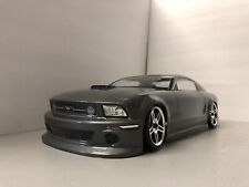 Fully Custom 1/10 Scale Remote Control On-road Drift Car Ford Mustang Gunmetal