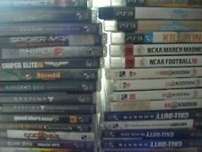 Playstation 3 games LOT PS3 PICK and CHOOSE! w/ case-most have booklets- TESTED