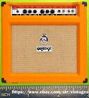 ORANGE guitar amp rerigerator magnet