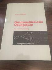 Fachliteratur: Finanzmathematik Übungen