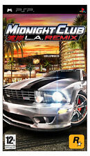 Midnight Club: LA Remix (PSP) VideoGames  Brand NEW SEALED