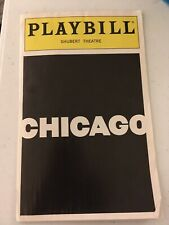 Chicago Playbill Bebe Neuwirth Marilu Henner Joel Grey Gregory Jbara