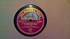 """10"""" 78RPM - DUKE ELLINGTON WITH TOMMY DORSEY - THE MINOR GOES MUGGIN' (B.9453) E"""