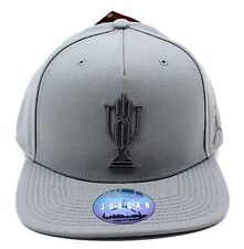 15ea6f0eb27 Nike Air Jordan Trophy Room Grey Snapback Hat Xx3 23 Gray Cap