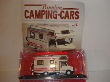 PASSION CAMPING CARS - CITROEN C25 CAPUCINE PILOTE R 470 - FRANCE 1984 au 1/43°
