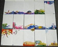 15 verschiedene Diddl Blockblätter DIN A4 (Set 2) - weiße Blätter aus Nr. 21-77