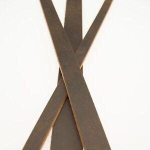 Crazy Horse Buffalo Leather Straps_Strips_8/9 oz. Belt Blanks
